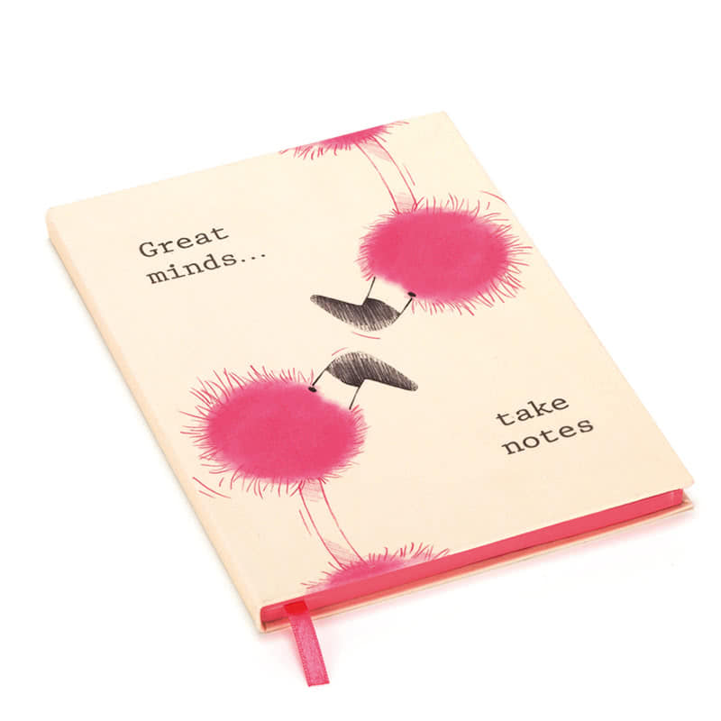Jellycat Flaunt Your Feathers Great Minds A5 Note Book