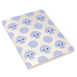 Kutie Pops Jellyfish A5 Notebook