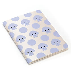 Kutie Pops Jellyfish A6 Notebook