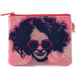 Girl in Glasses Coin Purse