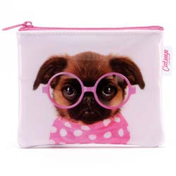 Glasses Pooch Coin Purse