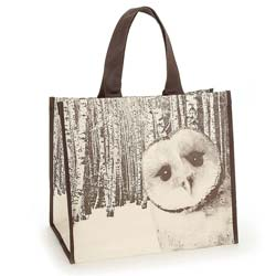 Owl in Woods Shopper