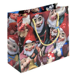 Gnomes Large Gift Bag