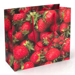 Strawberries Large Gift Bag