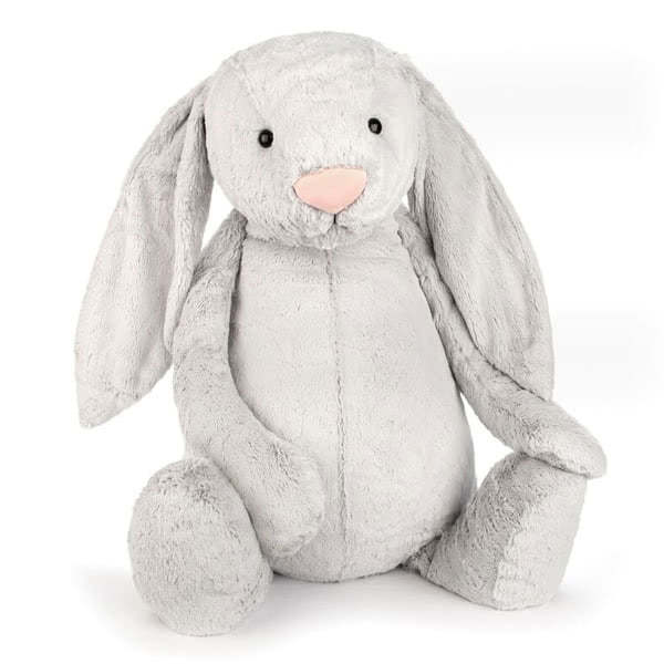 JellycatBashful Silver Bunny Very Big