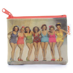 Bathing Belles Coin Zip Purse