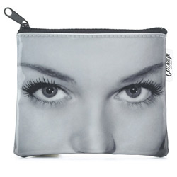 Beautiful Eyes Zip Purse
