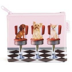 Diner Dogs Coin Purse