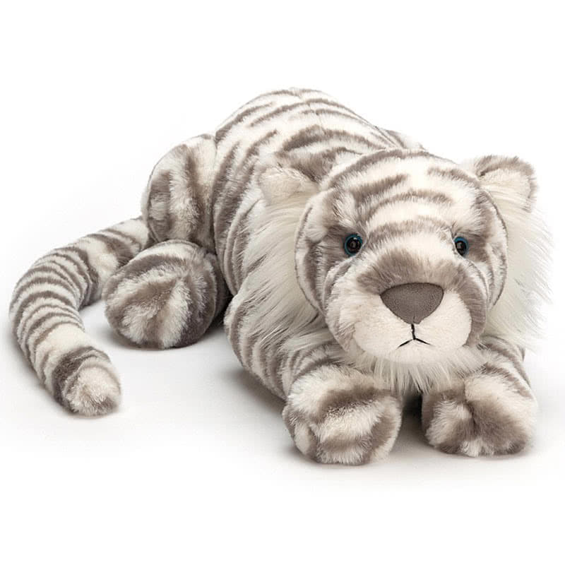 JellycatSacha Snow Tiger Really Big