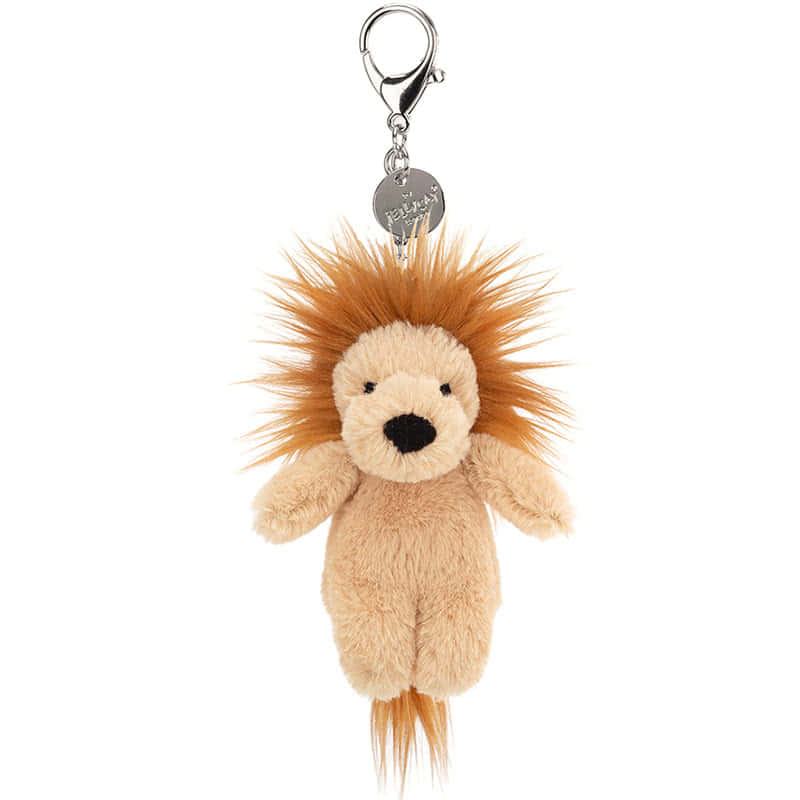 Jellycat Bashful Lion Bag Charm