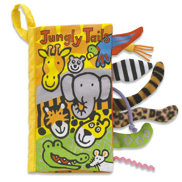 Little JellycatJungly Tails Book