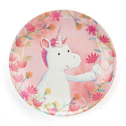 Unicorn Dreams Melamine Plate