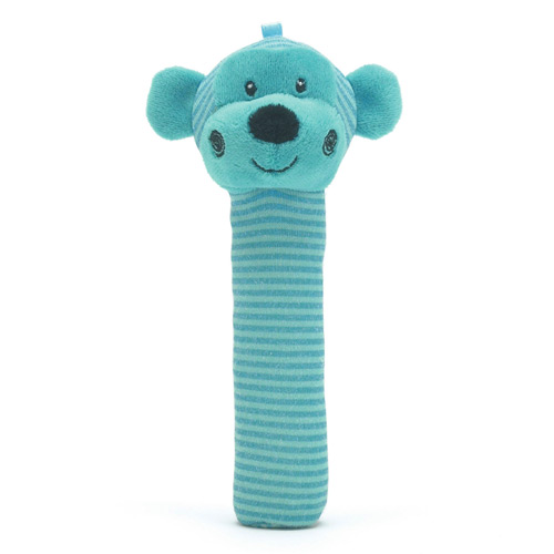 Toggle Monkey Squeaker Rattle