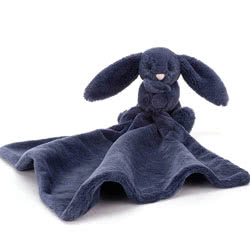 Bashful Navy Bunny Soother