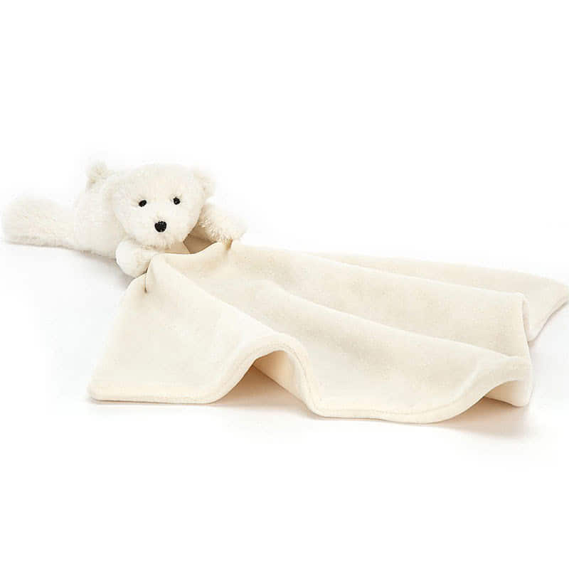JellycatShooshu Perry Polar Bear Soother