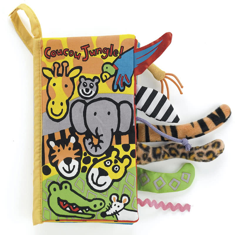 Little Jellycat Coucou Jungle Livre
