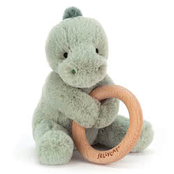 Shooshu Dino Wooden Ring Toy