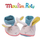 Moulin Roty Baby Booties