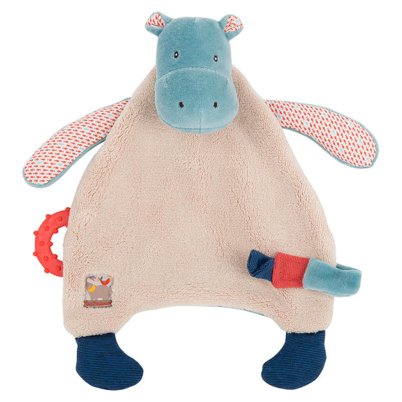 Moulin Roty Hippo Pacifier Comforter