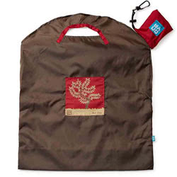 Olive Red Tree Large Shopping Bag