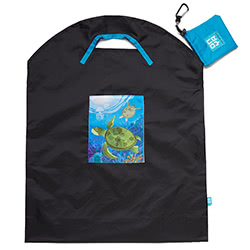 Sea Turtle Large Shopping Bag