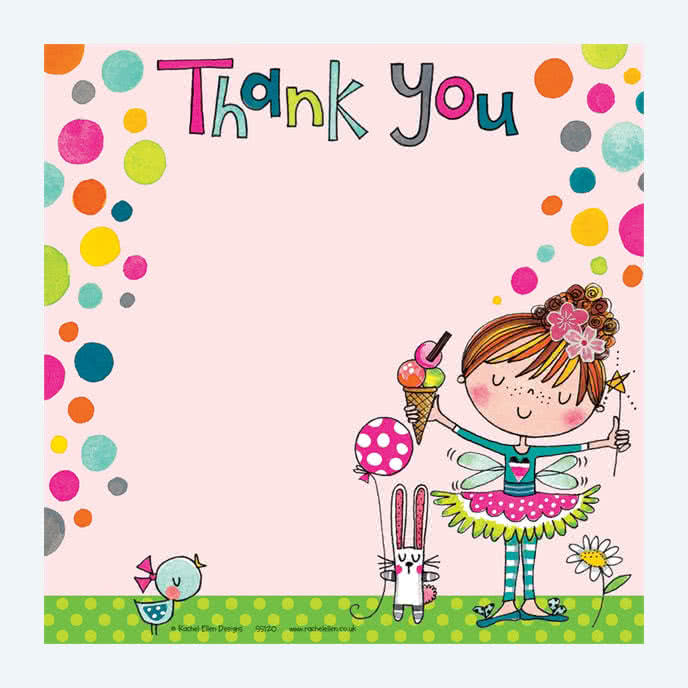 Rachel EllenFairy Ice Cream Thank You Card
