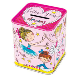 Ballerina Money Tin