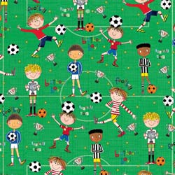 Football Birthday Gift Wrap