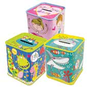 Money Box Tins
