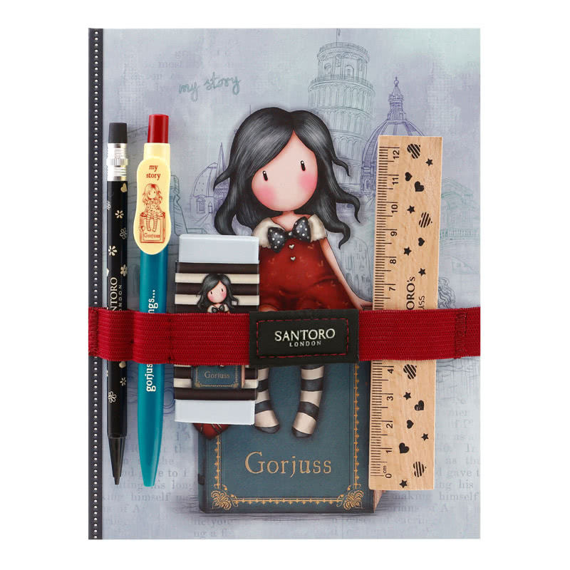 Gorjuss Cityscape My Story Notebook + Stationery