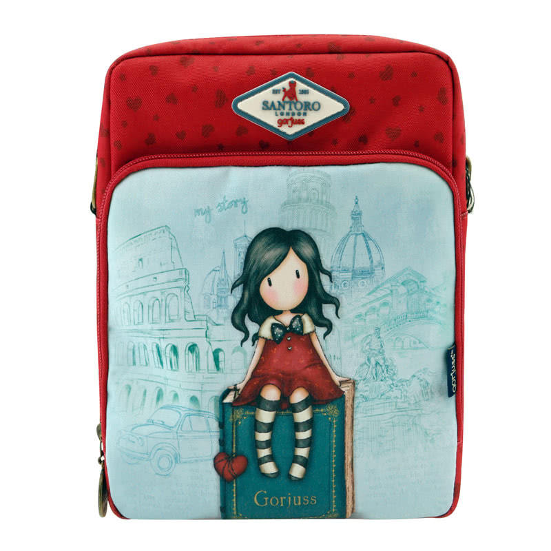 Gorjuss Cityscape My Story Shoulder Bag