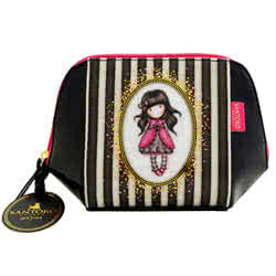 Stripes Structured Accessory Case - Ladybird