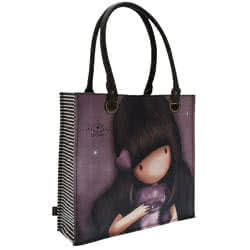 Large Coated Shopping Bag - All Shine