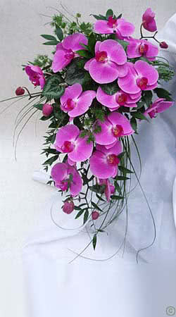 Wedding Bouquet Pink Orchid