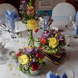 Wedding Table Arrangments
