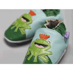 Hoppy Frog Leather Shoes