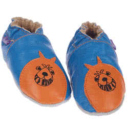 Space Hopper Leather Shoes